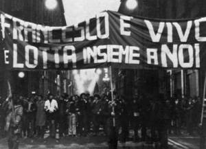 11 March 1977: Francesco Lorusso is murdered by police